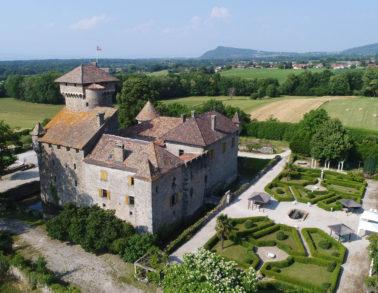 Château d'Avully - Valorisation du patrimoine architectural