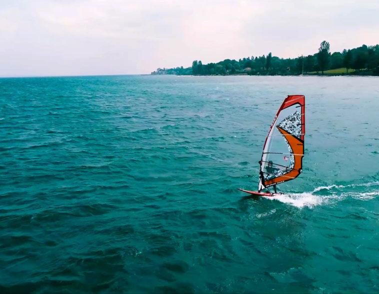 Windsurf sur le Léman